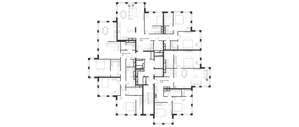 13 этаж